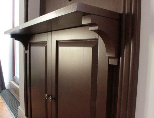 HMB Studio – Comoda de TV din lemn masiv